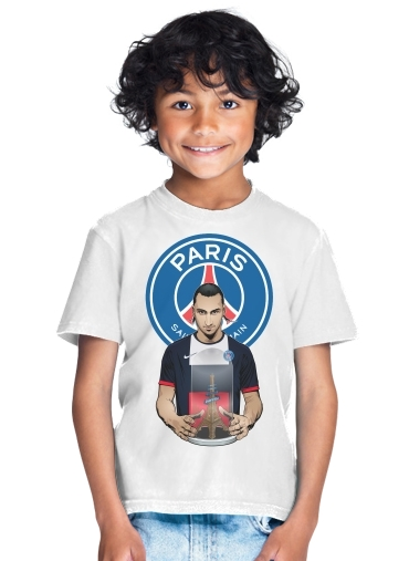 tshirt enfant Football Stars: Zlataneur Paris