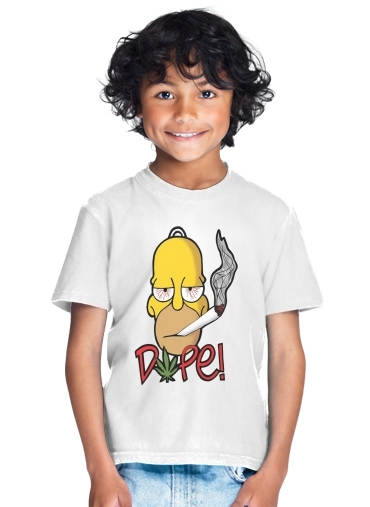 enfant Homer Dope Weed Smoking Cannabis