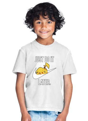 enfant Nike Parody Just Do it Later X Pikachu