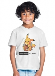 enfant Pikachu Coffee Addict