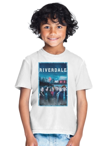 Enfant Riverdale Blanc Archie Tribute Shirt T kP8O0wn