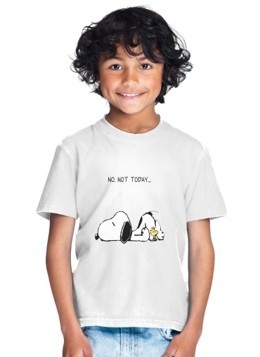 T-shirt Snoopy No Not Today