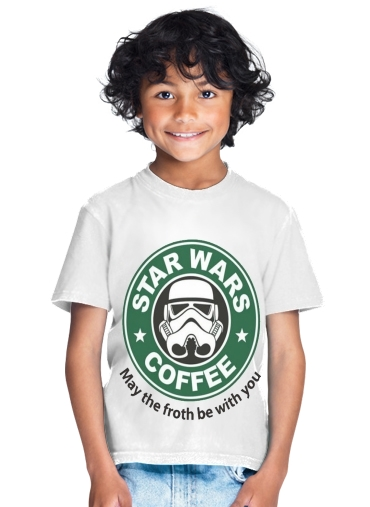 tshirt enfant Stormtrooper Coffee inspired by StarWars