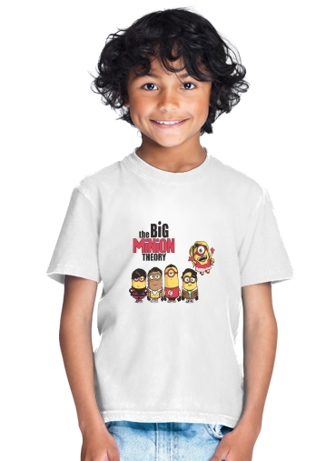 tshirt enfant The Big Minion Theory