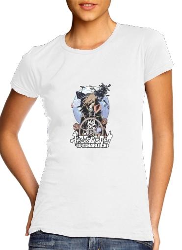 Albator Femme Pirate t-shirt albator pirate de l'espace femme personnalisée
