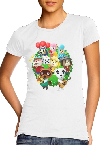 T-shirt Animal Crossing Artwork Fan Femme