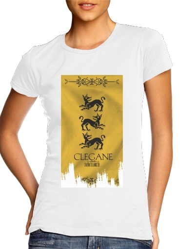 T-shirt Flag House Clegane
