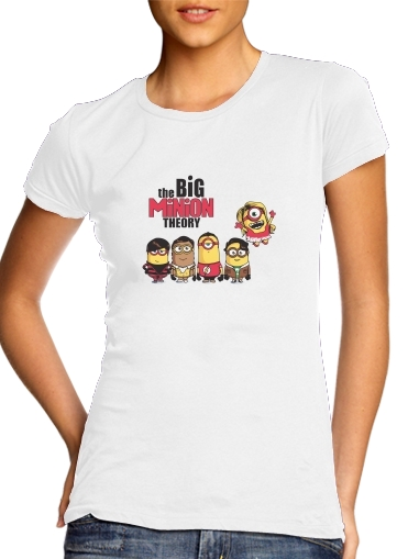 Tshirt The Big Minion Theory femme