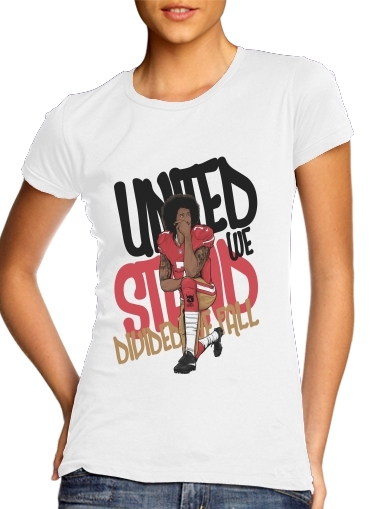 Tshirt United We Stand Colin femme