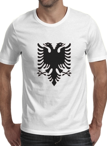 T-shirt Albanie Painting Flag