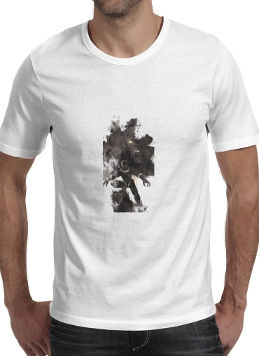 Tshirt Black Panther Abstract Art WaKanda Forever homme