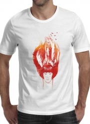 tshirt Burning Forest