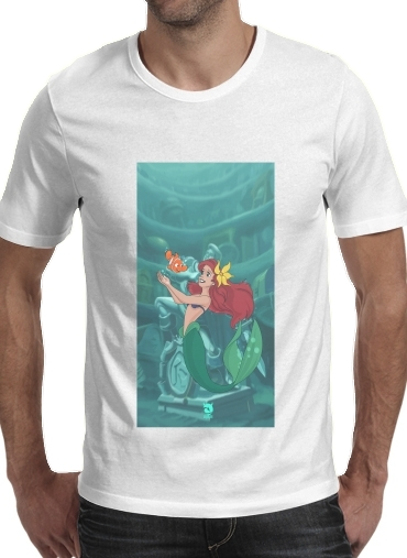 Tshirt Disney Hangover Ariel and Nemo homme