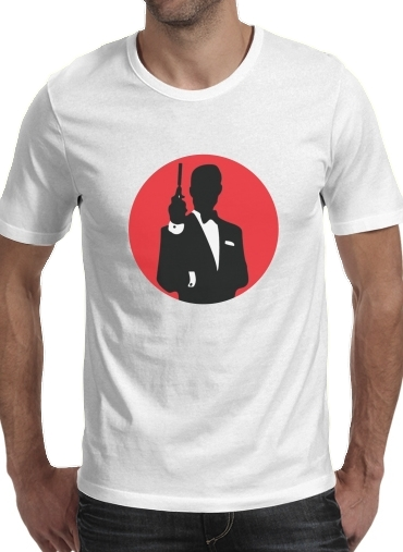 T-shirt English Secret Agent
