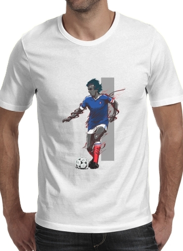 Tshirt Football Legends: Michel Platini - France homme