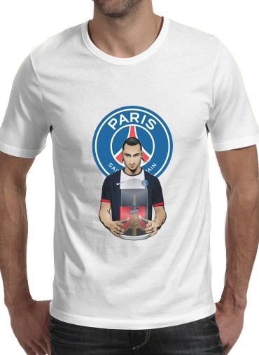 Tshirt Football Stars: Zlataneur Paris homme