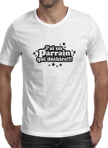T Shirt Je Suis Un Parrain Qui Dechire Homme