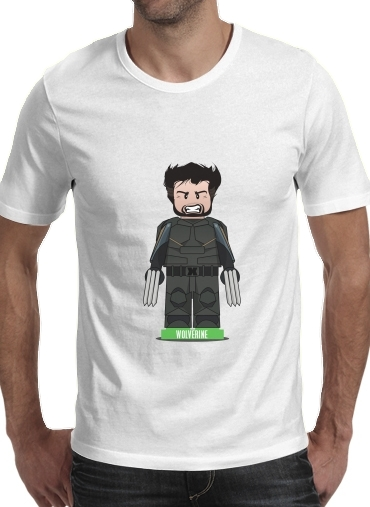 T-shirt Lego: X-Men feat Wolverine