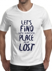 tshirt Let's find some beautiful place