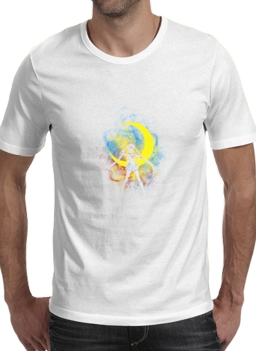T-shirt Moon Art