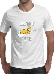 tshirt Nike Parody Just Do it Later X Pikachu