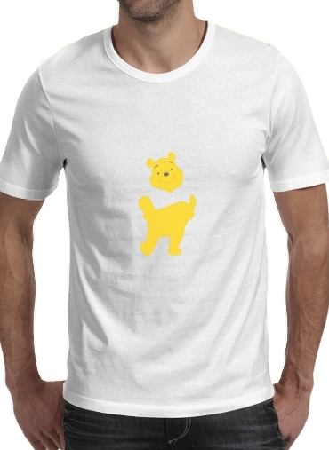 Tshirt Winnie The pooh Abstract homme