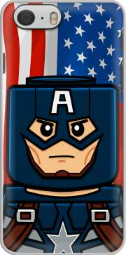 coque Iphone 6 4.7 Bricks Captain America