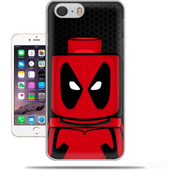 coque Bricks Deadpool pour Iphone 6 4.7