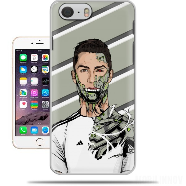 Coque iphone 6 4 7 football legends cristiano ronaldo real madrid robot - Fundas del real madrid ...