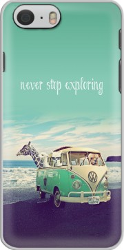 coque Never Stop Exploring - Lamas on Holidays pour