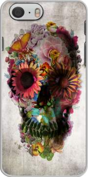 coque Skull Flowers Gardening pour