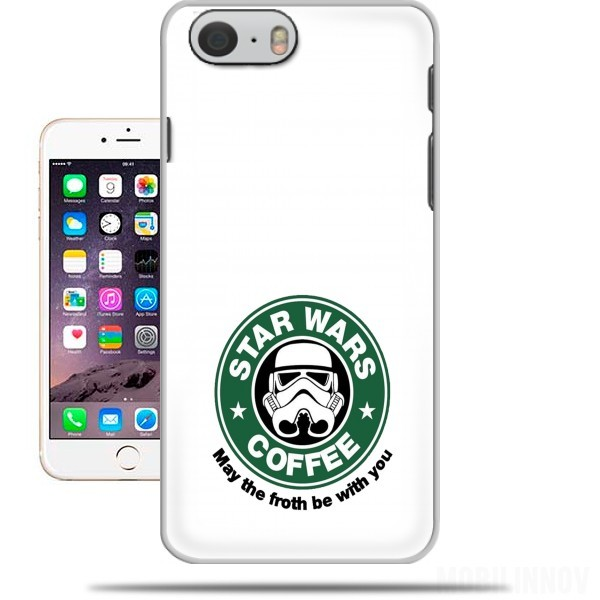coque Stormtrooper Coffee inspired by StarWars pour Iphone 6 4.7