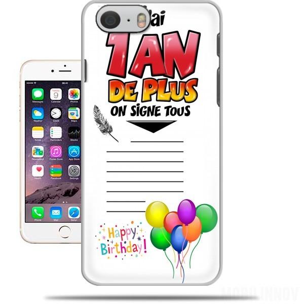 coque iphone 6 anniversaire
