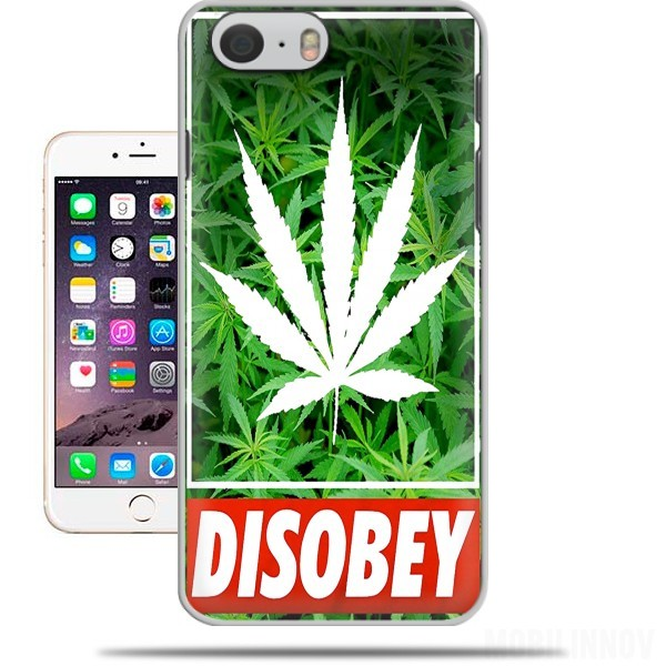 coque Weed Cannabis Disobey pour Iphone 6 4.7