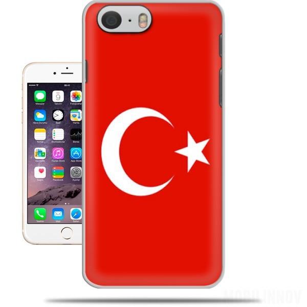 coque iphone 7 drapeau turquie