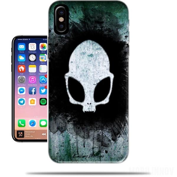 coque iphone x alien