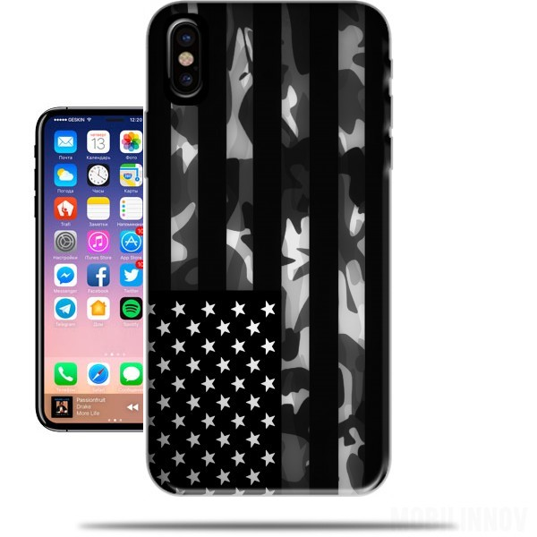 coque iphone x camouflage