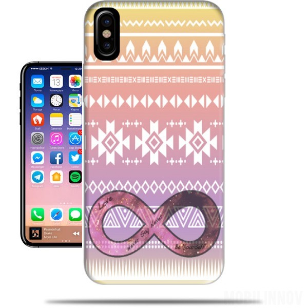 coque iphone x infini