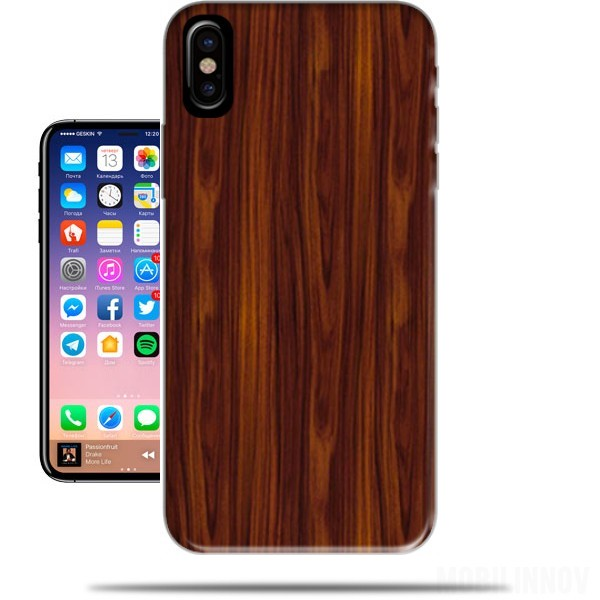 coque iphone x bois veritable