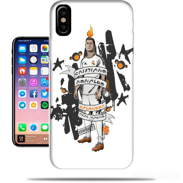 coque iphone x ronaldo