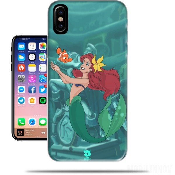 coque iphone x ariel
