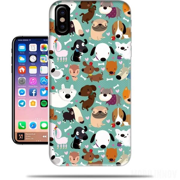 coque iphone x dog