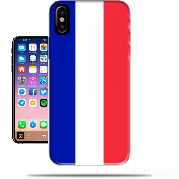 coque france iphone x