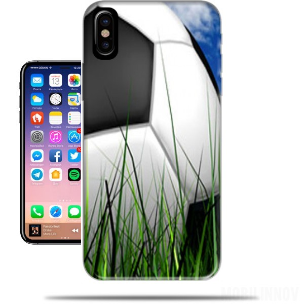 coque iphone x football