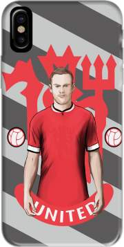 coque de téléphone Football Stars: Red Devil Rooney ManU