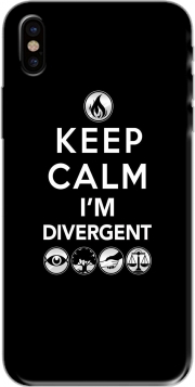 coque de téléphone Keep Calm Divergent Faction