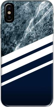 coque Iphone 6 4.7 Marble Navy