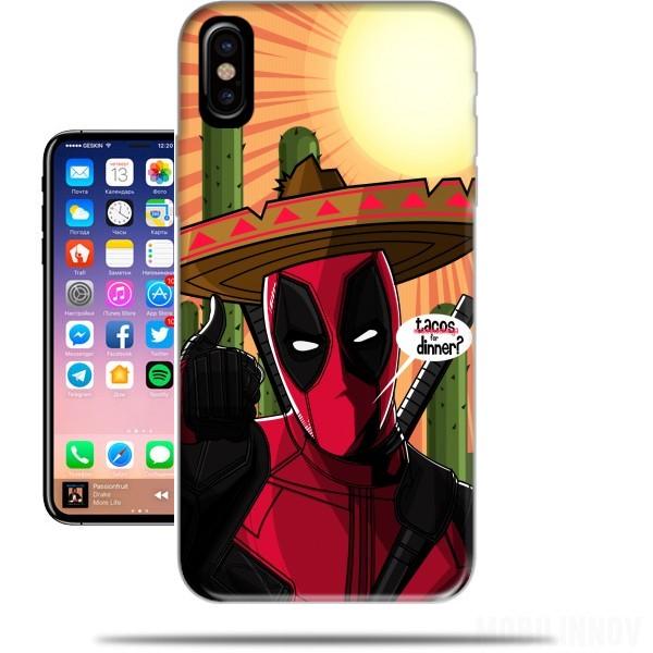 coque iphone x deadpool