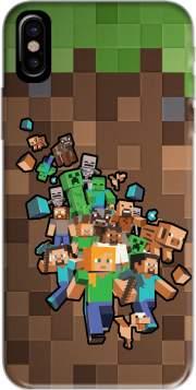 Coque Minecraft Creeper Forest