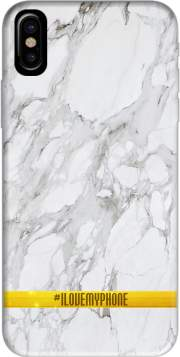 coque Iphone 6 4.7 Minimal Marble White